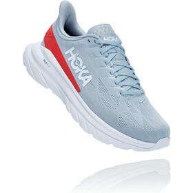 Hoka One One Mach 4 Shoes Men blue fog/fiesta